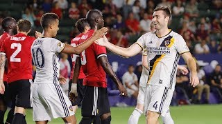 Giovani dos Santos scores again vs Manchester United. Want to see more from the LA Galaxy? Subscribe to our channel at ...