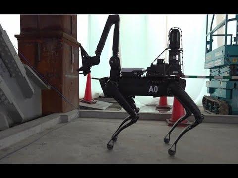 【動画あり】竹中工務店、あのメタルギアみたいなロボットを工事現場に投入してしまうwwwwwww