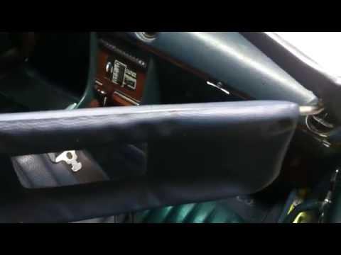How to repair a Sunvisor Clip on a MB W107 - Comment réparer un clip sur une Mercedes Benz R107