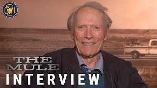 Clint Eastwood Talks The Mule, Drug Cartels and Bizarre True-Life Stories