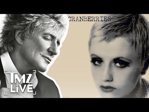 Rod Stewart Mourns Dolores O'Riordan's Passing | TMZ Live (видео)