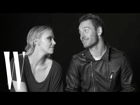Michael Fassbender - Prometheus co-stars Charlize Theron and Michael Fassbender laugh with Lynn Hirschberg about dying on screen, nudity in films, and diving off the high dive.