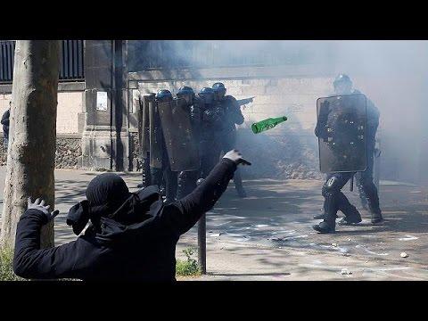 Γαλλία: Επεισόδια στην πορεία για την Πρωτομαγιά στο Παρίσι