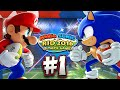 Mario Sonic At The Rio 2016 Olympic Games Wii U Part 1