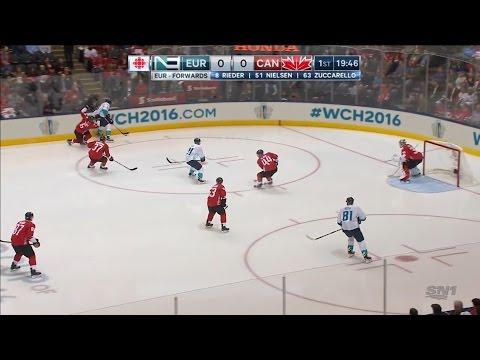 Финал Кубка мира 2016. Канада - Сборная Европы. Матч #1 | 2016 WCH Final. Europe - Canada. Game #1 (видео)