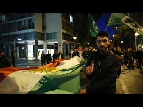 Αθήνα: Διαδήλωση για την Αφρίν