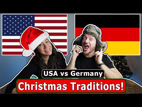Christmas Traditions in Germany vs USA (funny Differences)