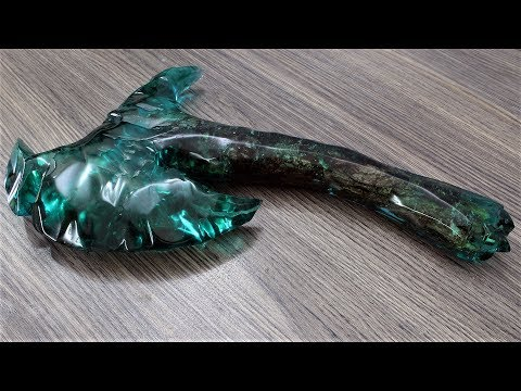 How to Make This Axe  Resin Art