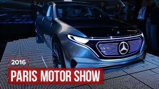 The Generation EQ concept from Mercedes-Benz is modern electric luxury by Roadshow