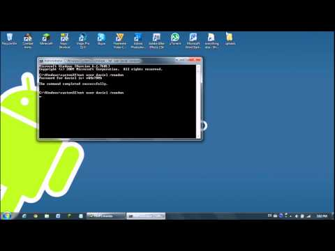 How to Hack Someones Computer Password (Via Command Prompt HD)