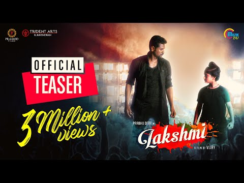 Lakshmi |Tamil Movie Teaser | Pra ..
