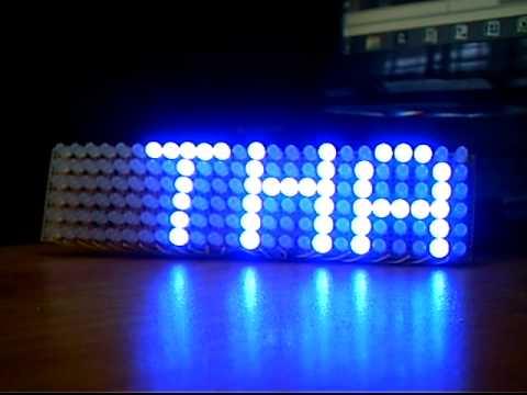 24X6 LED matrix