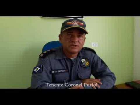 Tenente Coronel Puziol fala sobre aliciamento