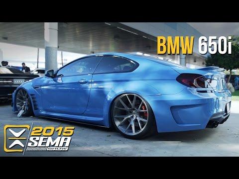 SEMA 2015 | BMW 650i |  Vossen Wheels