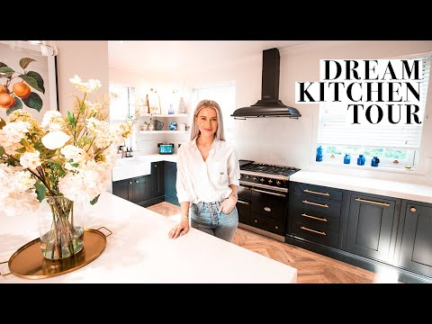 KITCHEN TOUR AND HOW WE DESIGNED OUR DREAM KITCHEN | INTHEFROW