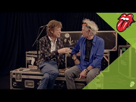 WATCH: Mick and Keith re-live their early days at their London exhibit!