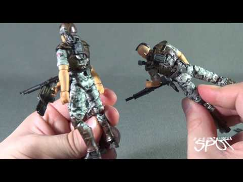 Collectible Spot - Hiya Toys Aliens Colonial Marines Hicks 1:18 Scale Figure