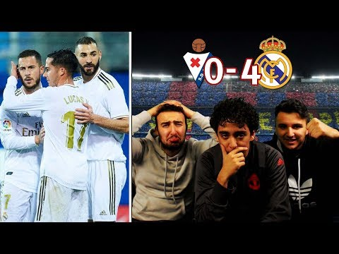 UNSTOPPABLE!! REACTION TO: REAL MADRID WIN OVER EIBAR | REACCION