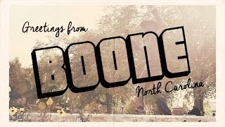 Boone (NC) United States  City new picture : Boone, North Carolina - NYO-USA Video Postcard