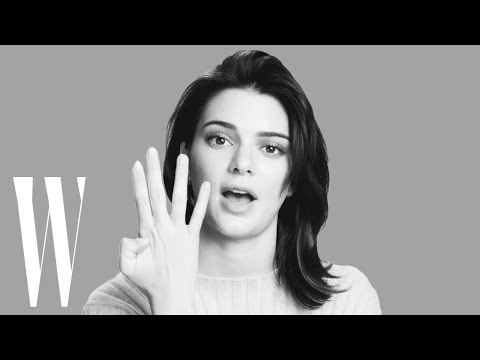 Kendall Jenner on Her First Kiss, Her Girl Crush, and Her Secret Talent | Screen Tests | W Magazine (видео)