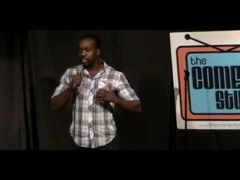 Kofi Thomas Funny Comedy Studio set in boston
