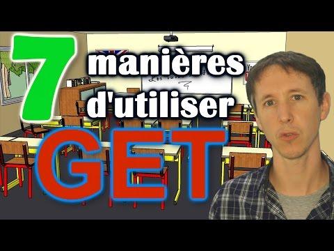 7 manières d'utiliser GET en anglais