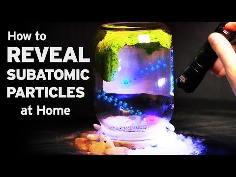 Jak doma pozorovat subatomární částice?