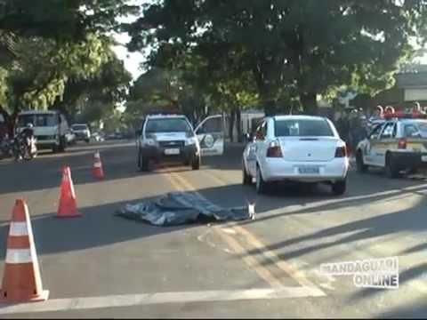 Comerciante morre atropelado em Mandaguari
