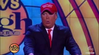 Video Comedians Compete For Best Pres. Donald Trump Impersonation | The View HD MP3, 3GP, MP4, WEBM, AVI, FLV Juli 2018