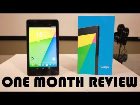 Nexus 7 (2013) Review - One Month Review