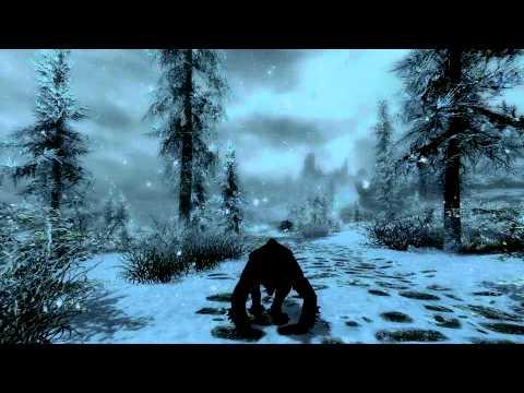 American Werewolf in Skyrim