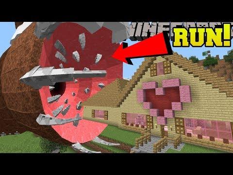 Minecraft: THE UNKILLABLE BOSS!!! (IT ATE JEN'S HOUSE!) - Mod Showcase (видео)