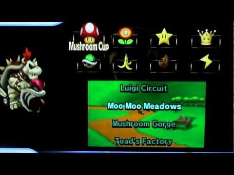 Mario Kart Wii - How to unlock Dry Bowser the really easy way