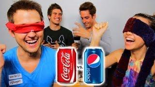 COKE VS PEPSI CHALLENGE!
