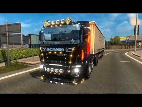 Scania illegal V8 Reworked v5.0 (1.27.x)