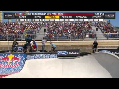Gary Young wins BMX Park gold_Legjobb videk: Extrm