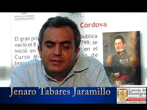 Concejal rionegrero Jenaro Tabares