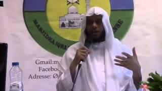 Raadka ay Fitntu ku reebto qofka Muslimka ah 2aad Sh Abu Dalxa