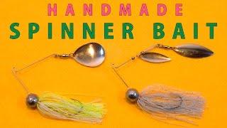 Handmade SPINNER BAIT / スピナーベイトを作るっ!