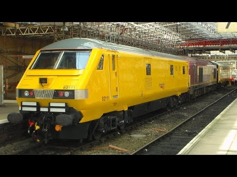 An unusual afternoon at Crewe Station - 7th August 2014