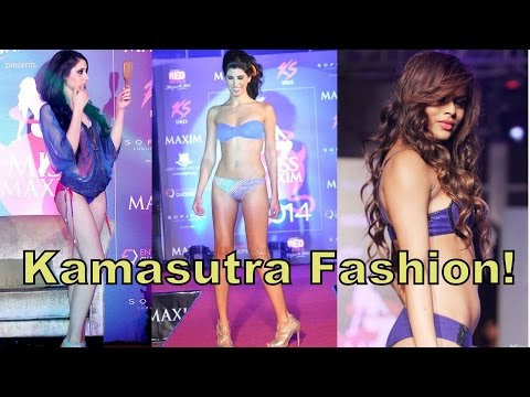Hot & Sexy Kamasutra Models Sizzles in Bikini at Miss Maxim Grand Finale 2014