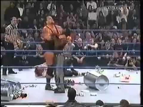 Big Show vs Raven   Hardcore Titlematch