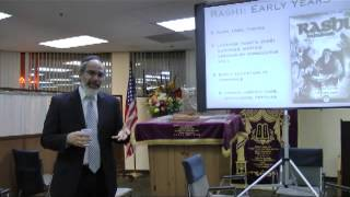 Rashi Jewish History Lecture By Dr. Henry Abramson