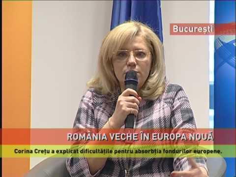 Corina Creţu, în dialog cu studenţii români