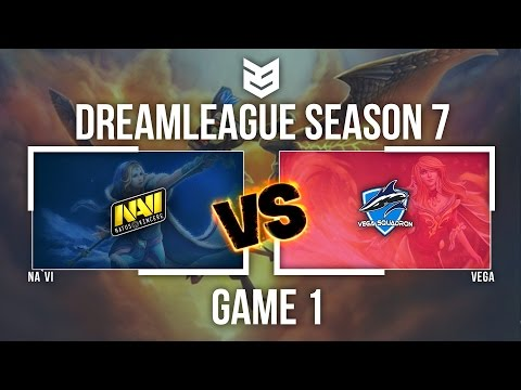 23 creativeVN | Dreamleague season 7 | Na`vi vs Vega - Game 1 - Caster : DK