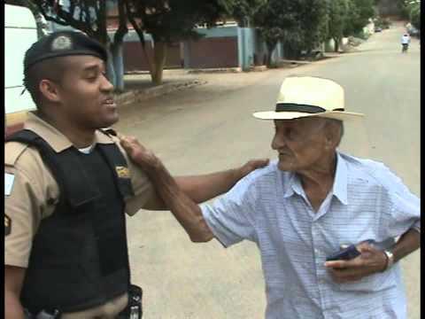 REPORTAGEM BLITZ EDUCATIVA  POLICIA E AUTO ESCOLA 2014   FREI INOCENCIO