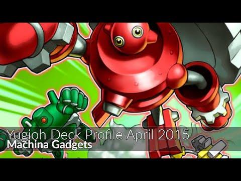 Machina Gadgets – Yugioh Deck Profile April 2015