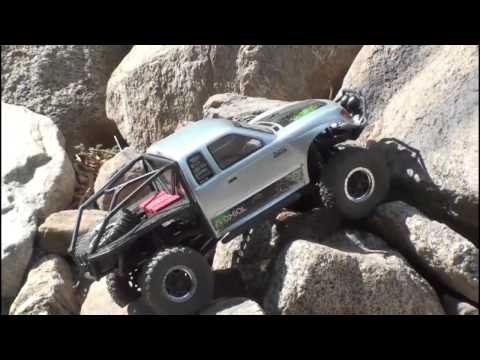 axialvideos - Axial SCX10 Honcho RTR in action. Part # AX90022.