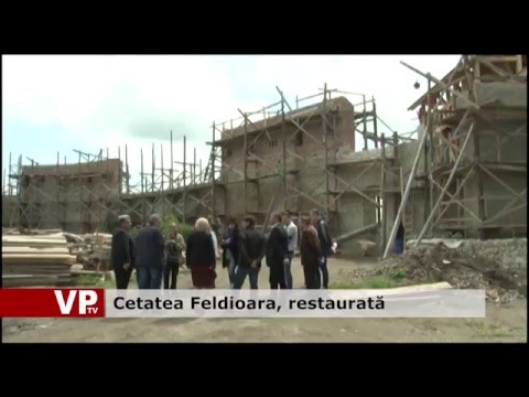 Cetatea Feldioara, restaurată
