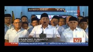 Video Merasa Unggul di Hitung Cepat, Prabowo dan Jokowi Saling Klaim Kemenangan MP3, 3GP, MP4, WEBM, AVI, FLV Maret 2019